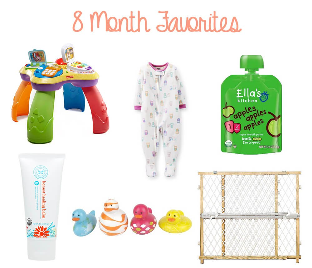 8 Month Favorites