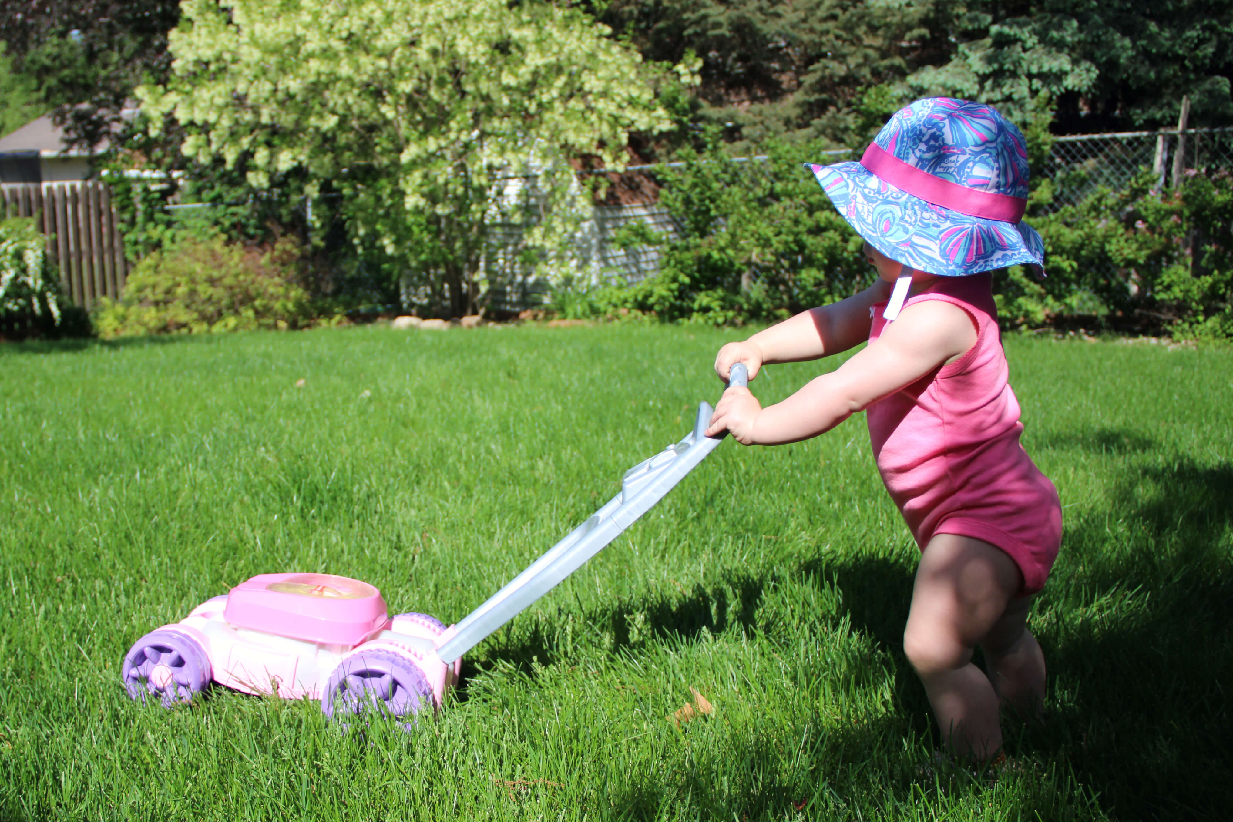 Bubble Lawn Mower