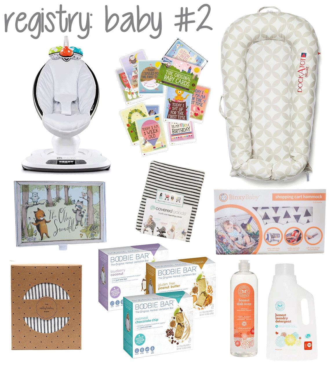 Registry for Baby 2