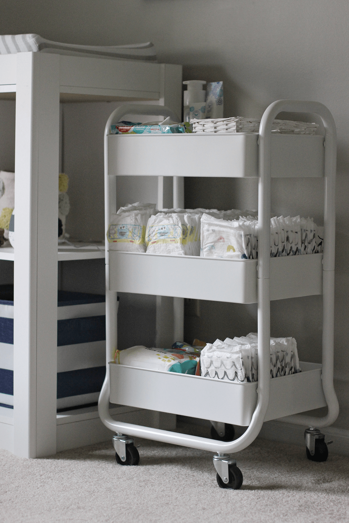 White Cart in Nursery