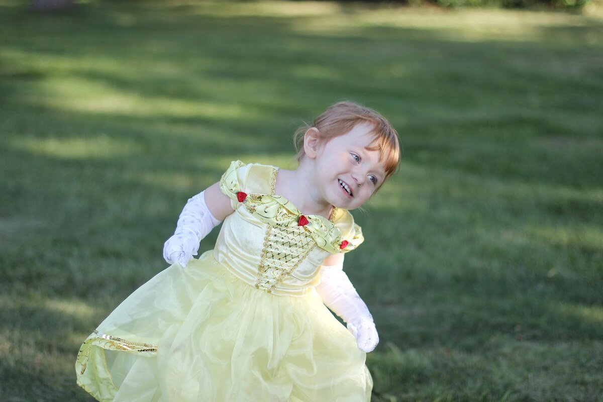 Yellow Beauty Little Adventures Dress