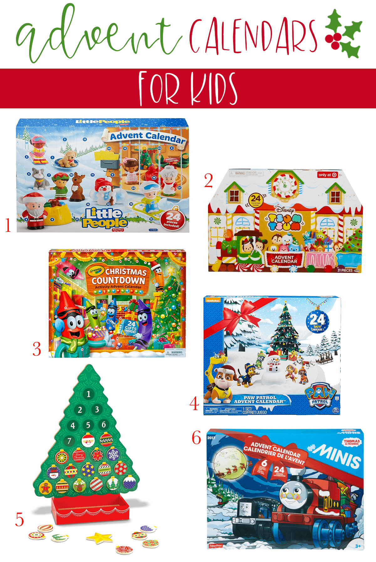 The Best Advent Calendars for Children