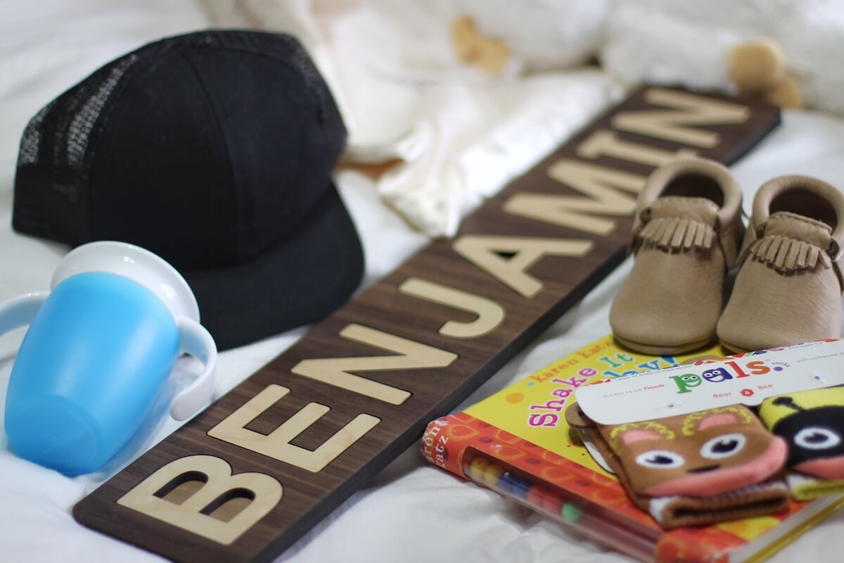 First Birthday Gifts for Baby Boy