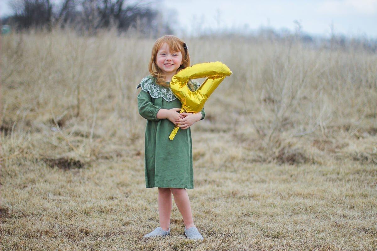 Blaire, age 4