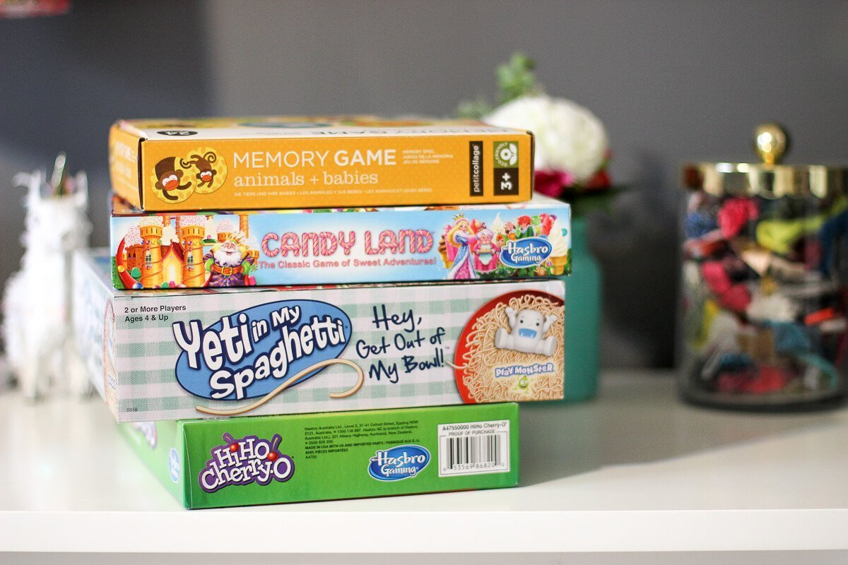 Favorite Toddler Board Games
