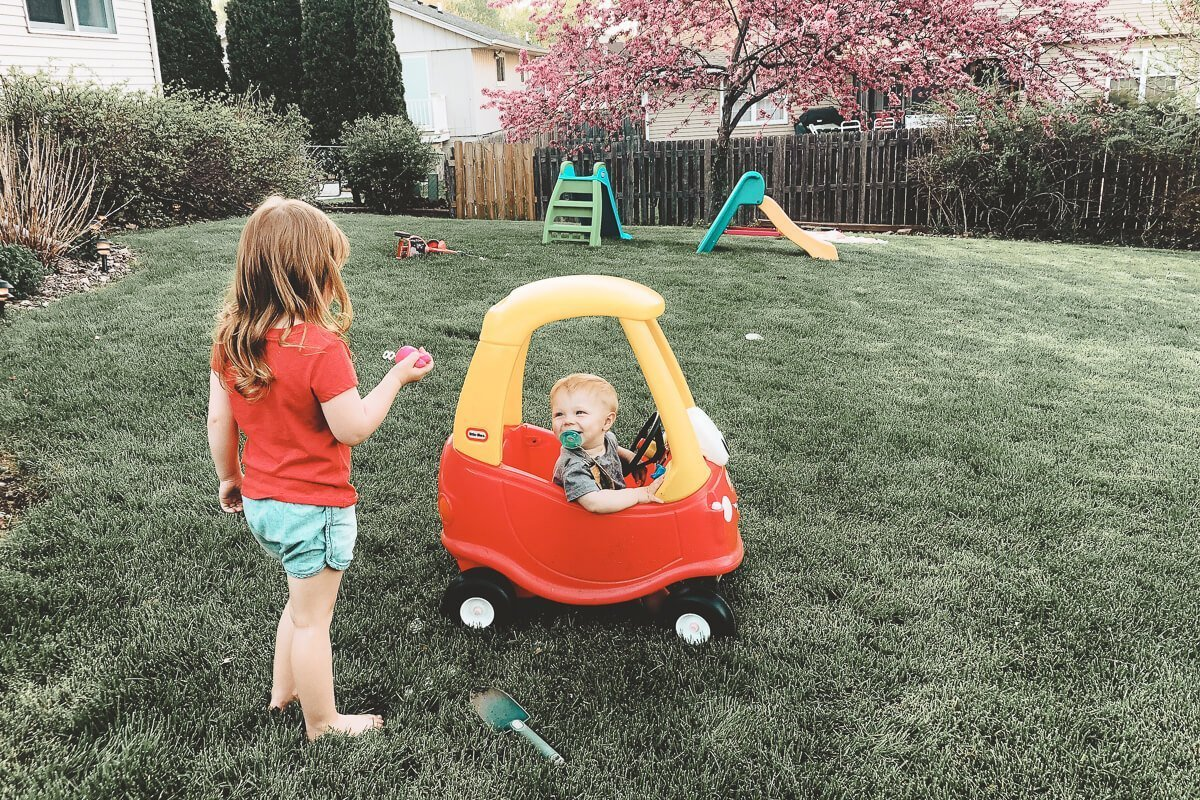 favorite outdoor toys for toddler