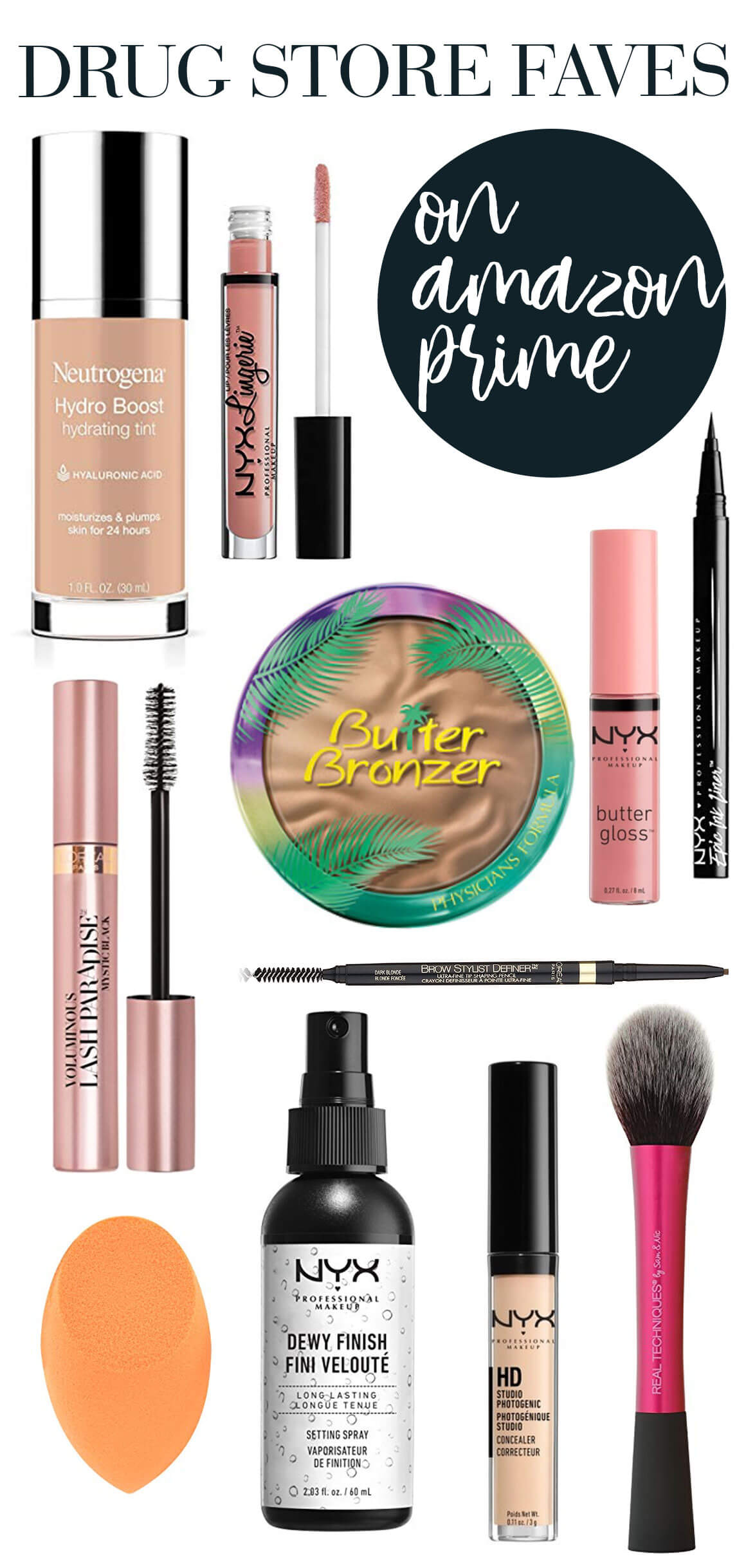the best drug store makeup